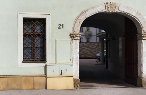 Vstup do budovy